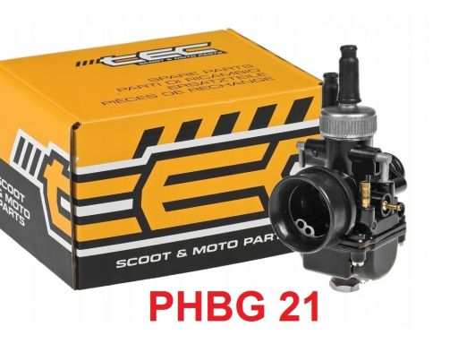 Gaźnik tec phbg 21 runner nrg mc 2 3 racing 70 80