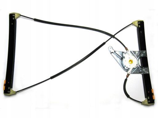 Mechanizm szyby elek lewy do audi a3 8l 96- 3 drzw