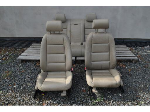 Fotele skórzane grzane twist audi a4 b6 sedan