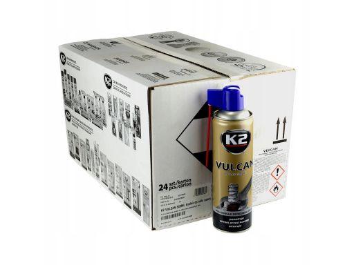 Odrdzewiacz k2 vulcan 500ml karton 24szt