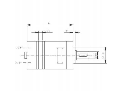 Silnik hydrauliczny orbitalny smm8 mms bmm 16mm 1