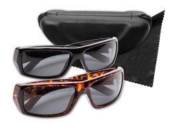 Polaryte hd okulary czarne panterka przeciwsłonecz