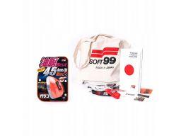Soft99 glaco q niewidzialna wycieraczka i cleaner