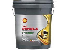 Shell rimula r6lm 10w40 20l r6 lm 10w-40