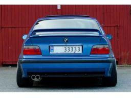 Dyfuzor bmw e36 m pakiet nowy!!coupe podwójny