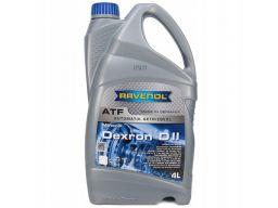 Olej przekładniowy ravenol atf dexron d ii 4l
