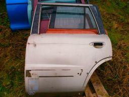 Nissan patrol y61 1997 | 2005 drzwi lewy lewe tył