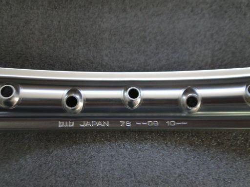 Honda crf 125 25   450 obręcz felg did 21-1.60 przód