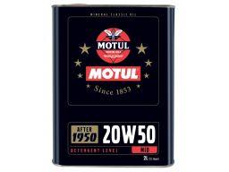 Motul classic oil 20w-50 2l samochody zabytkowe