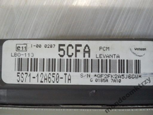 Komputer sterownik ford mondeo mk3 2.0b 07r