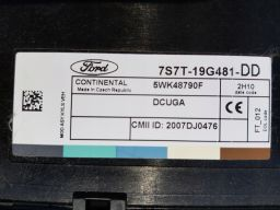 7s7t-19g481-dd moduł komfortu ford mondeo mk4