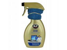 K2 lcd płyn do mycia wyświetlaczy 250ml mikrofibra