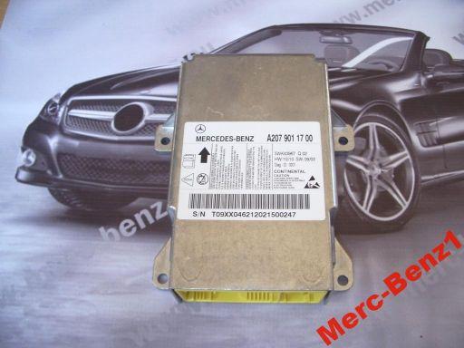 Mercedes airbag sensor poduszek e 207 w207 c 204