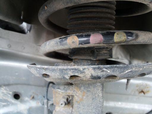 Amortyzator lewy przód ford mondeo mk4 2.5 turbo