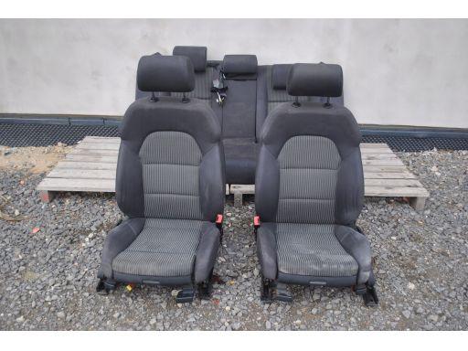 Fotele kanapa sport kubełki materiał a4 b7 kombi