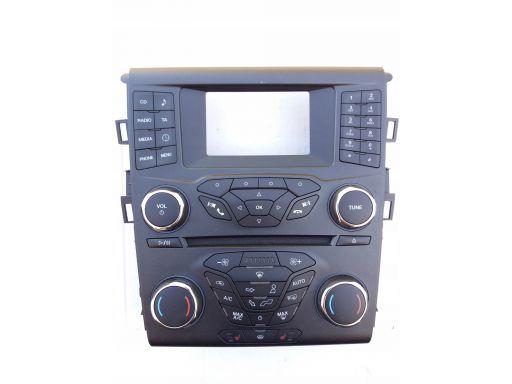 Radio panel klimatyzacji ford mondeo mk5 st-line