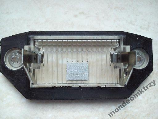 Lampka tablicy rejestracyjnej ford focus mk2 c-max