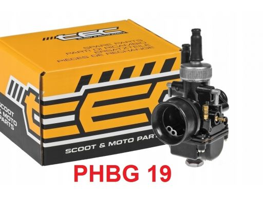 Gaźnik tec phbg 19 runner nrg mc 2 3 racing 70 80